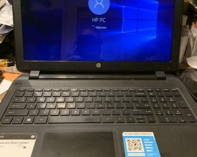 HP 15 win 10 DVD-RW 640HD nice