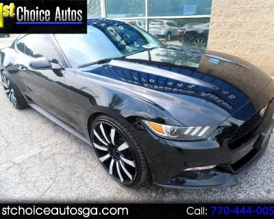Used 2017 Ford Mustang EcoBoost Premium Fastback