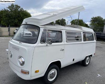 1972 VW westfalia Camper Vanagon