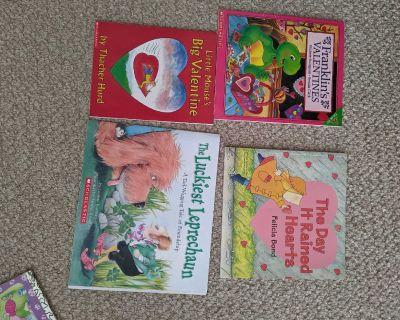 Valentine and St Patrick books