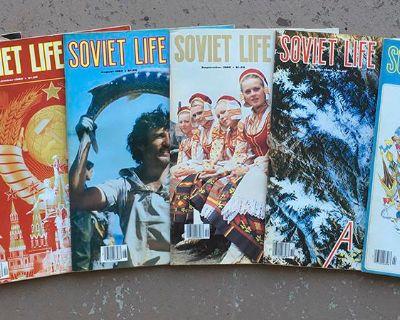 Soviet Life magazines