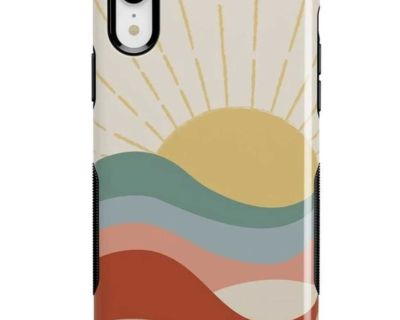 BRAND NEW iPhone XR Colorblock Sunset Case
