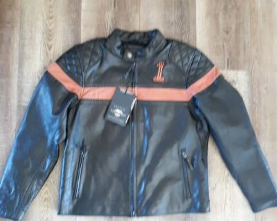 Harley Davidson Men's Motorcycle Jacket Sz L