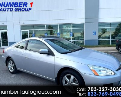 Used 2003 Honda Accord EX coupe AT