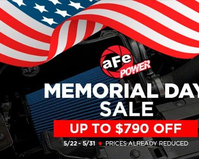 Bring torque and horsepower to your Mustang with aFe Products + SALE