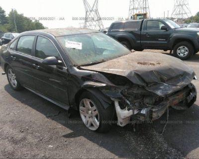 Salvage Black 2013 Chevrolet Impala