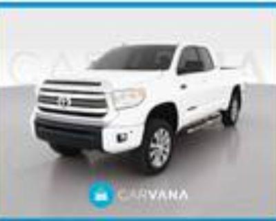 2017 Toyota Tundra White, 37K miles