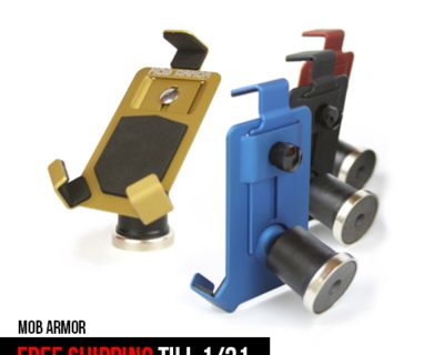 FREE SHIPPING on all Mob Armor Phone Mounts till 1/31