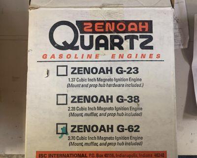 BNIB Zenoah G-62 & Accessorie