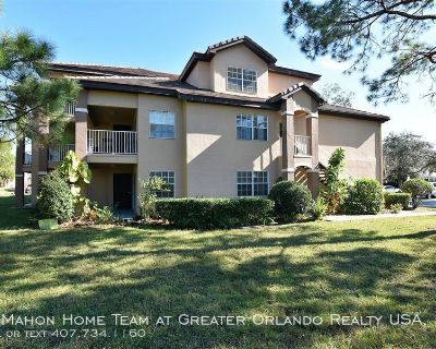 *Garage Included* First floor CORNER UNIT, 2br 2ba in GATED COMMUNITY of Audubon Villas in HUNTER'S CREEK, with ALL TILE FLOORS!!