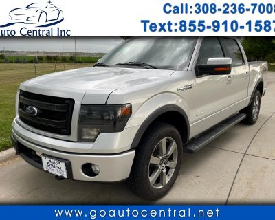 """2013 Ford F-150 4WD SuperCrew 145"""" FX4"""