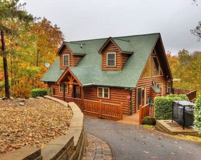 Secluded Family Friendly Cabin w/Mountain View--Perfect for Social Distancing! - Little Creek Falls