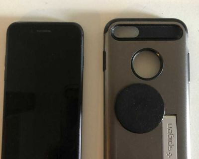 iPhone 8 with case