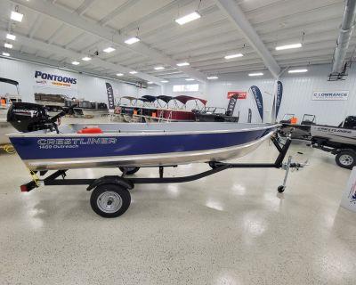 2022 Crestliner 1469 OUTREACH Aluminum Fish Boats Kaukauna, WI