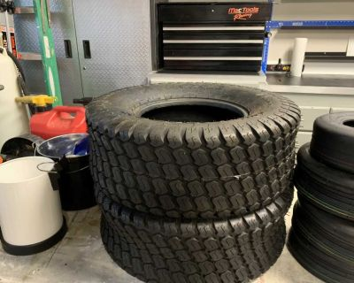 New Lawn Mower Tires
