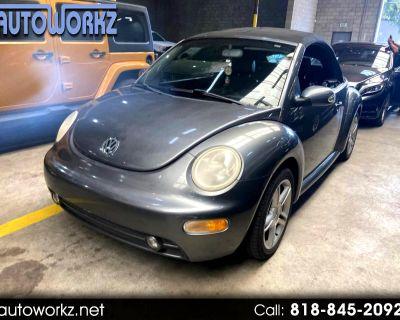 2004 Volkswagen New Beetle Convertible 2dr Convertible GLS Turbo Manual