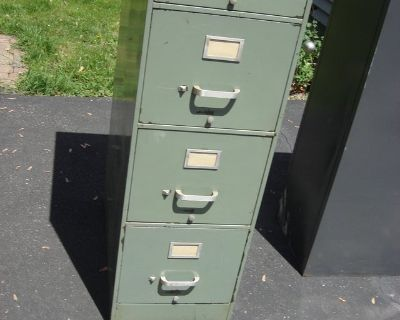 CHOICE OF 4 DRAWER FILE CABINETS