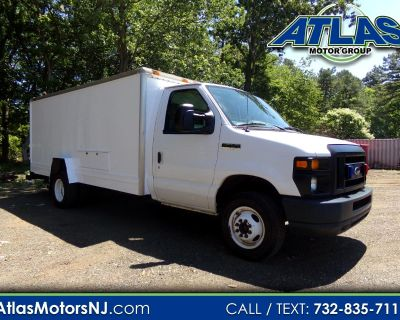 Used 2013 Ford E-Series Chassis E-450 Box Truck with A/C and Cameras