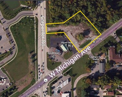 VACANT LAND - COMMERCIAL CORNER FOR SALE IN ANN ARBOR