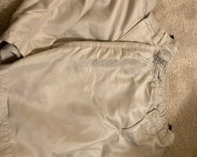 Boy 8/10 lot of 2 pair Champion golf shorts (athletic material, adjustable waist with button)