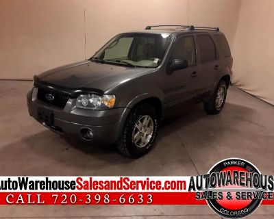 Used 2005 Ford Escape Limited 4WD