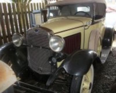 1930 Ford Deluxe Roadster