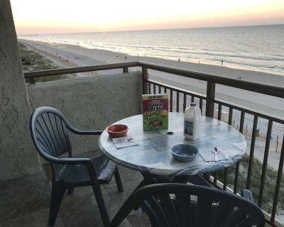 Experience a Panoramic View of the GrandStrand from our Our Oceanfront Condo - Myrtle Beach