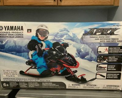 Apex, YAMAHA.. Snow Bike.. BRAND NEW