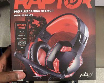 Raptor Pro plus gaming Headset