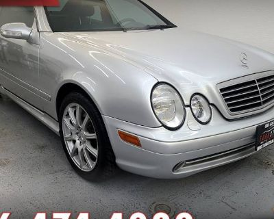 2001 Mercedes-Benz CLK C 55 AMG