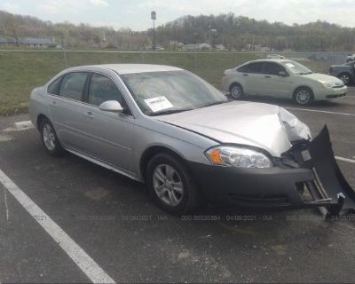Salvage Silver 2015 Chevrolet Impala Limited
