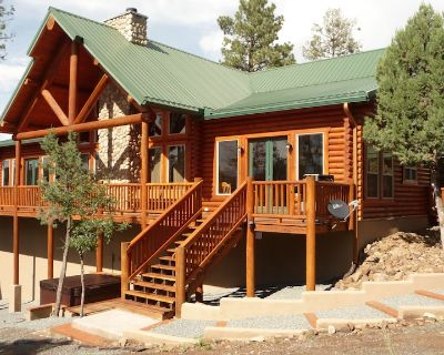 Premium Mountain Retreat On Over 2 Acres With Sweeping Views-hot Tub/Pool Table - Ruidoso