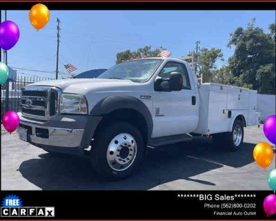 2005 Ford F550 Super Duty Regular Cab & Chassis for sale