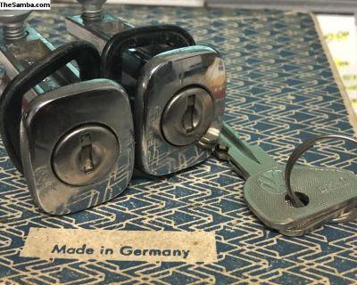 1967 Only type 3's door locks with (K) keys