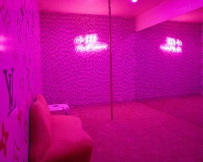 Pink Retro Money Louis Vuitton Room, Los Angeles, CA