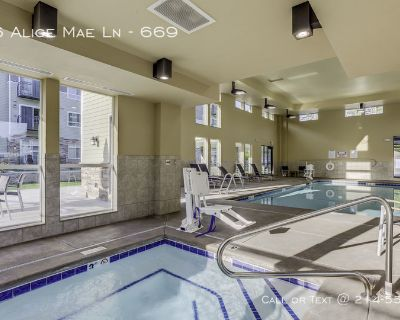 Tile and wood floors with private balconies.apartments in Southpark Meadows ..