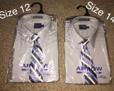 NEW marching dress shirts & ties!