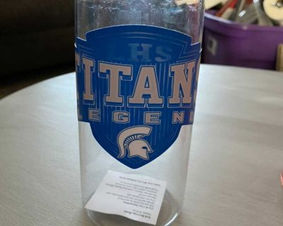 Legend titans water bottle (new with tags)