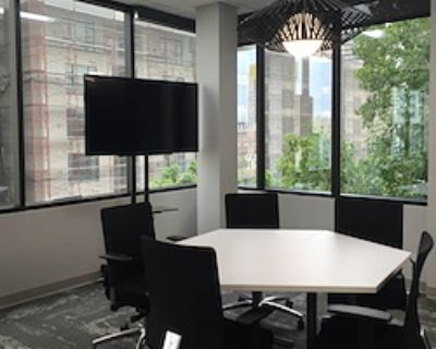 Private Meeting Room for 5 at Downtown Works San Diego