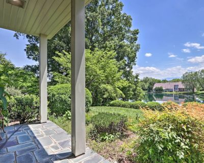 NEW! Scenic Lakefront Home w/ Hot Tub on 3 Acres! - Sevierville