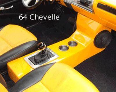 64,65,66,67,68,70 Chevelle El Camino Center Console Classic Muscle Cars #3