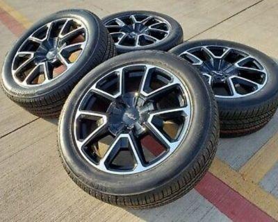 "22"" 2021 Chevy Suburban OE rims & tires"