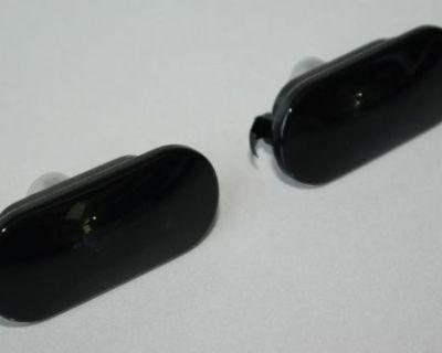 Vw Jetta Golf Mk4 Dark Smoke Smoked Fender Side Marker Light Lights Pair Gti Gli
