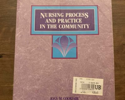 Nursing Process and Practice in the Community by Joan M. Cookfair