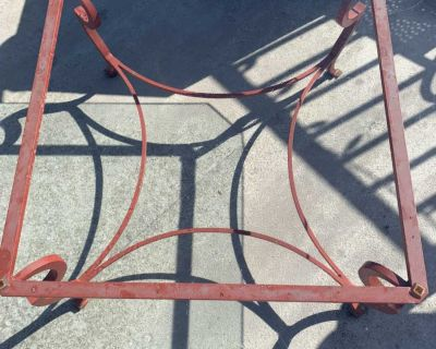Glass coffee/patio table