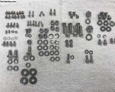 Stainless hardware / bolt kit- cabin and pedals