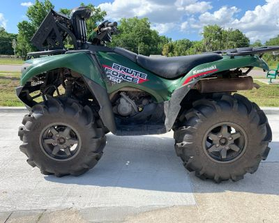 2019 Kawasaki Brute Force 750 4x4i ATV Sport Utility Orlando, FL