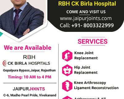 Get the best advice about hip, knee and shoulder replacement surgery by Dr Lalit Modi.