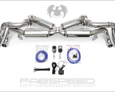 FABSPEED MOTORSPORT | R8 V8 Valvetronic X-Pipe Exhaust System