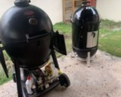 Weber Smoker/Chargriller charcoal grill